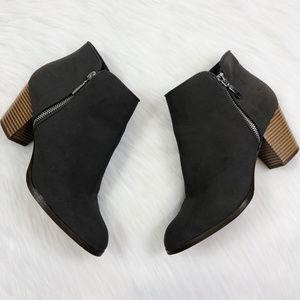 [STYLE & CO] Gray Jamila Zip Up Booties